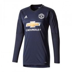 2017-2018 Man Utd Adidas Home Goalkeeper Shirt (Kids)