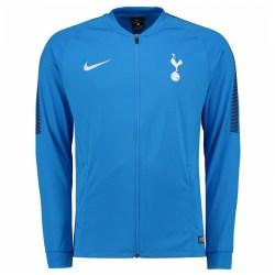 2017-2018 Tottenham Nike Squad Knit Track Jacket (Blue)