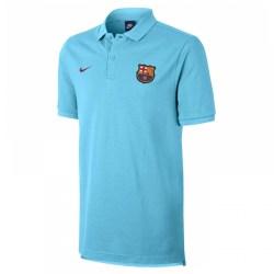 2017-2018 Barcelona Nike Core Polo Shirt (Blue)