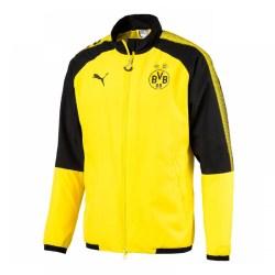 2017-2018 Borussia Dortmund Puma Leisure Jacket (Yellow) - Kids