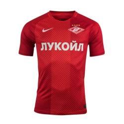 2017-2018 Spartak Moscow Home Nike Football Shirt