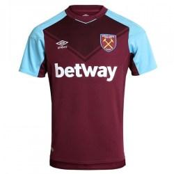 2017-2018 West Ham Home Football Shirt