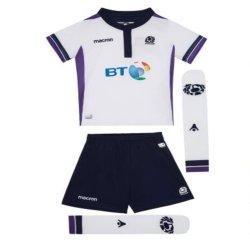 2017-2018 Scotland Macron Alternate Rugby Mini Kit