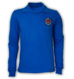 Yugoslavia 1960's Long Sleeve Retro Shirt 100% cotton