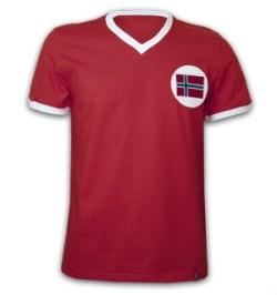 Norway 1970's Short Sleeve Retro Shirt 100% cotton