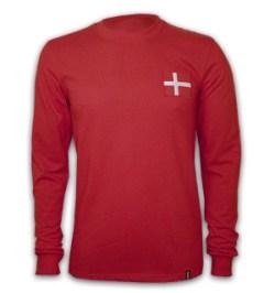 Denmark 1970's Long Sleeve Retro Shirt 100% cotton