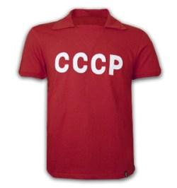 CCCP 1960 Short Sleeve Retro Shirt 100% cotton