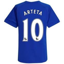 2010-11 Everton Home Shirt (Arteta 10)