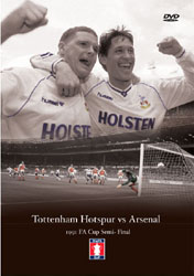 Tottenham Hotspur vs Arsenal 1991 FA Cup Semi Final DVD