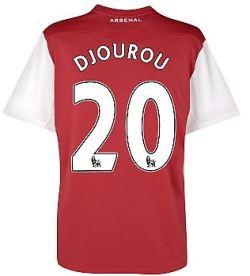 2011-12 Arsenal Nike Home Shirt (Djourou 20) - Kids
