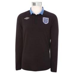 2011-12 England Euro 2012 L/S Away Shirt (Kids)