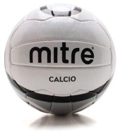 Calcio 18 Panel Training Football White/Black