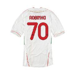2011-12 AC Milan Away Shirt (Robinho 70)
