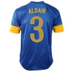 2012-13 Brazil Nike Away Shirt (Aldair 3)