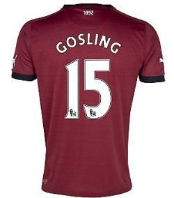 2012-13 Newcastle Puma Away Shirt (Gosling 15) - Kids