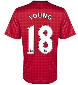 2012-13 Man Utd Nike Home Shirt (Young 18)