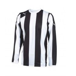 Puma Hooped LS Striped Shirt (black-white)