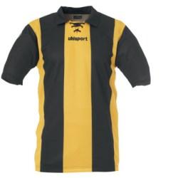 Uhlsport Retro Stripes SS Shirt (yellow-black)