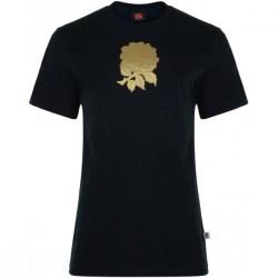 2012-13 England Graphic Cotton Tee (Black)