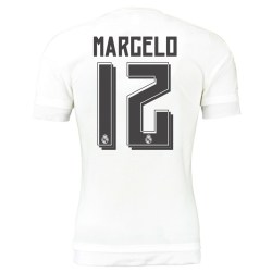 2015-16 Real Madrid Home Shirt (Marcelo 12) - Kids