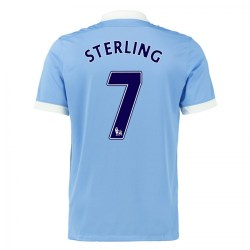 2015-16 Man City Home Shirt (Sterling 7)