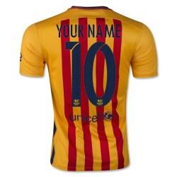 2015-16 Barcelona Away Shirt (Your Name) -Kids