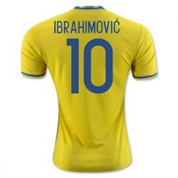 2016-2017 Sweden Home Adidas Shirt (Ibrahimovic 10) - Kids
