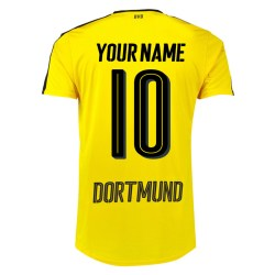 2016-17 Borussia Dortmund Home Shirt  (Your Name 10) - Kids
