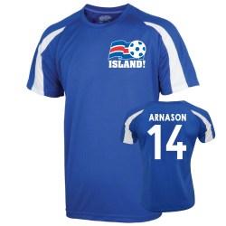 2016-17 Iceland Sports Training Jersey (Arnason 14) - Kids