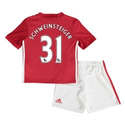 2016-17 Man United Home Baby Kit (Schweinsteiger 31)