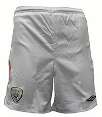 08-09 Ireland home shorts