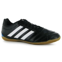 adidas Goletto Mens Indoor Football Trainers (Black-White)