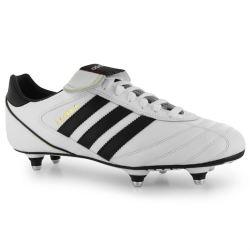 Adidas Kaiser Cup SG Mens Football Boots (White-Black)