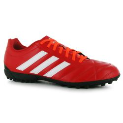 adidas Goletto Mens Astro Turf Trainers (Vivid-Red)