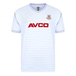 Score Draw West Ham 1986 Away Shirt