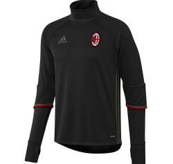 2016-2017 AC Milan Adidas Training Top (Black)