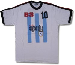Argentina Tee (white) 05/06
