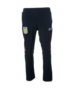 2016-2017 Aston Villa Tracksuit Travel Pants (Black)