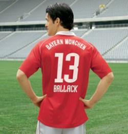 Bayern Munich home (Ballack 13) 05/06