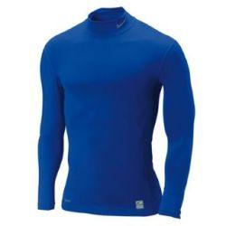 Nike Pro Core Mock Baselayer (blue)