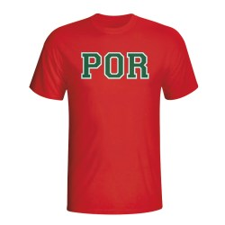 Portugal Country Iso T-shirt (red)