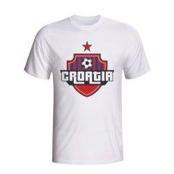 Croatia Country Logo T-shirt (white)