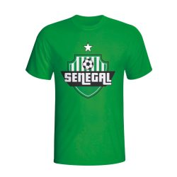 Senegal Country Logo T-shirt (green) - Kids