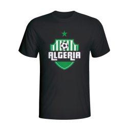 Algeria Country Logo T-shirt (black)