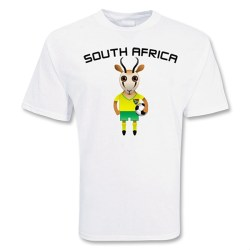 South Africa Mascot Soccer T-shirt