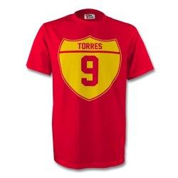 Fernando Torres Spain Crest Tee (red)