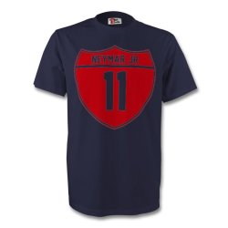 Neymar Jr Barcelona Crest Tee (navy)