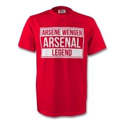 Arsene Wenger Arsenal Legend Tee (red)