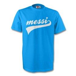 Lionel Messi Argentina Signature Tee (sky Blue)