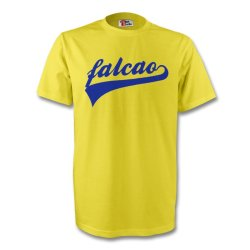 Radamel Falcao Colombia Signature Tee (yellow)